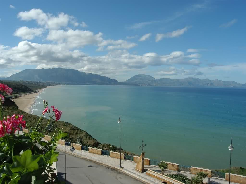Meraviglioso paesaggio di Balestrate