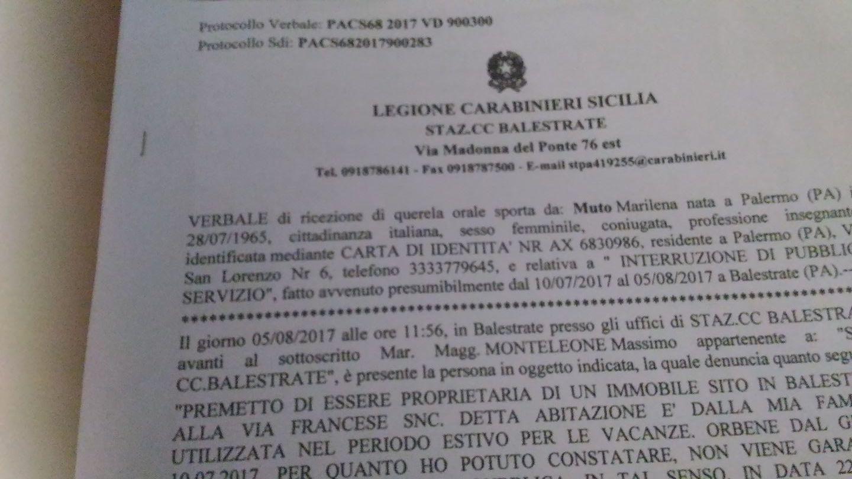 """Storia della turista Marilena, senza acqua dal 10 luglio: """"Rinuncio alle ferie, lascio Balestrate"""""""