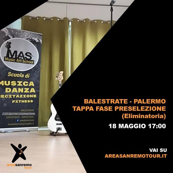 Sanremo passa da Balestrate: il 18 maggio i provini per andare al Festival